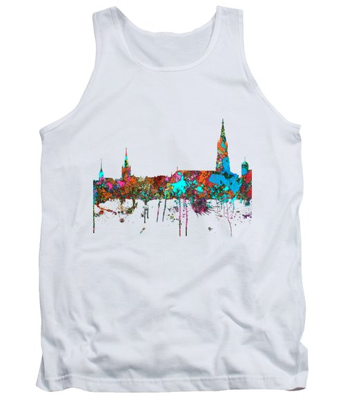 Berne Switzerland Skyline Tank Top
