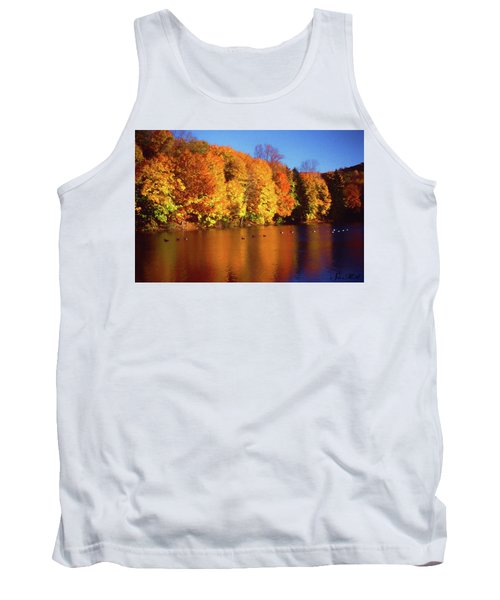 Bernharts Dam Fall 008 Tank Top