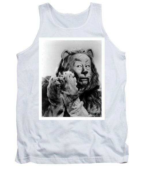 Cowardly Lion In The Wizard Of Oz Tank Top