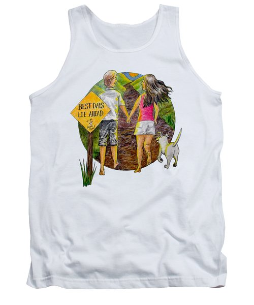 Best Days Lie Ahead Tank Top