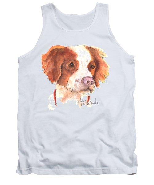 Best Dog By Kathleen Mcelwaine Tank Top by Kathleen McElwaine