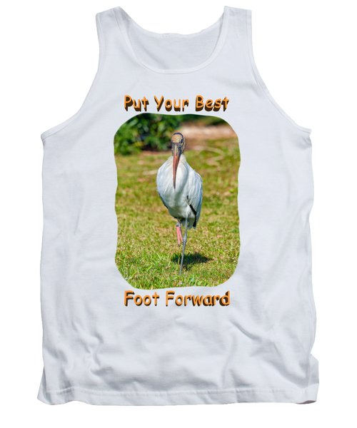 Best Foot Forward Tank Top