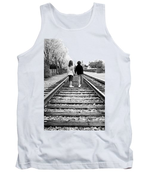 Tank Top featuring the photograph Bff's by Greg Fortier