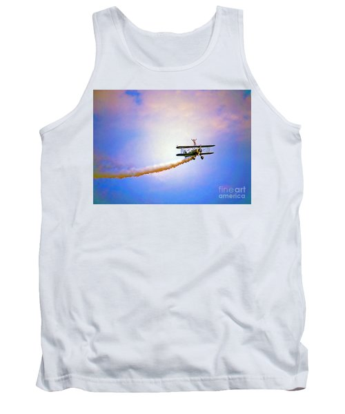 Bi-plane And Wing Walker Tank Top