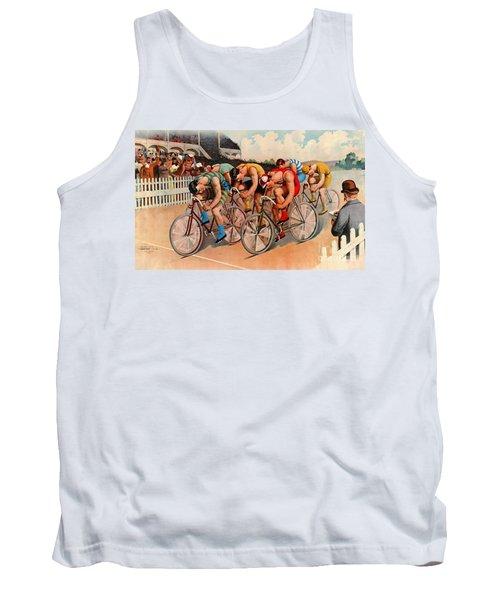 Bicycle Race 1895 Tank Top