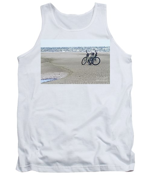 Bicycles On The Beach Tank Top