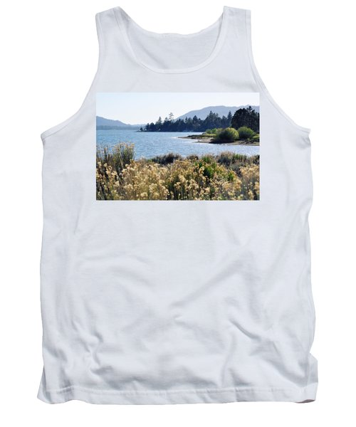 Big Bear Lake Shoreline Tank Top