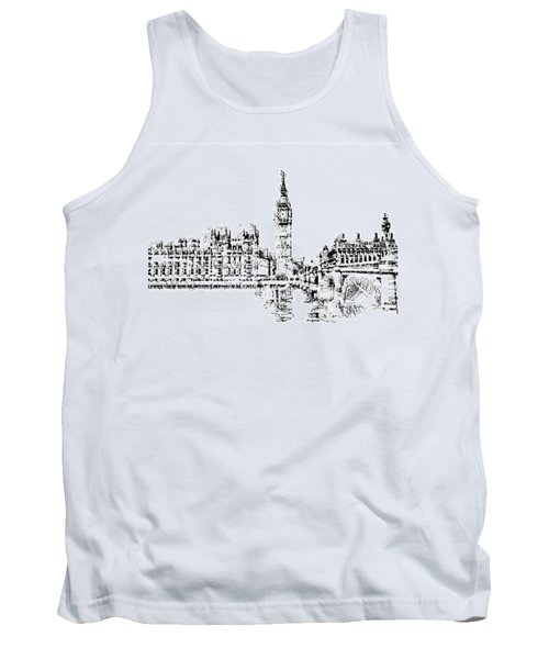 Big Ben Tank Top by ISAW Gallery