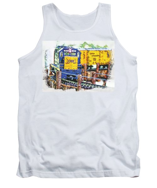 Tank Top featuring the photograph Big Bend by Robert Pearson