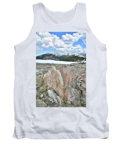 Big Horn Pass In Wyoming Tank Top