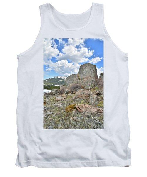 Big Horn Pass Rock Croppings Tank Top