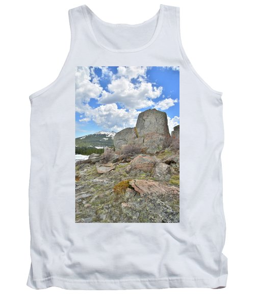 Big Horn Pass Rock Croppings Tank Top