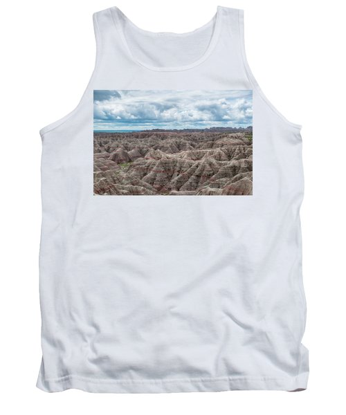 Tank Top featuring the photograph Big Overlook Badlands National Park  by Kyle Hanson