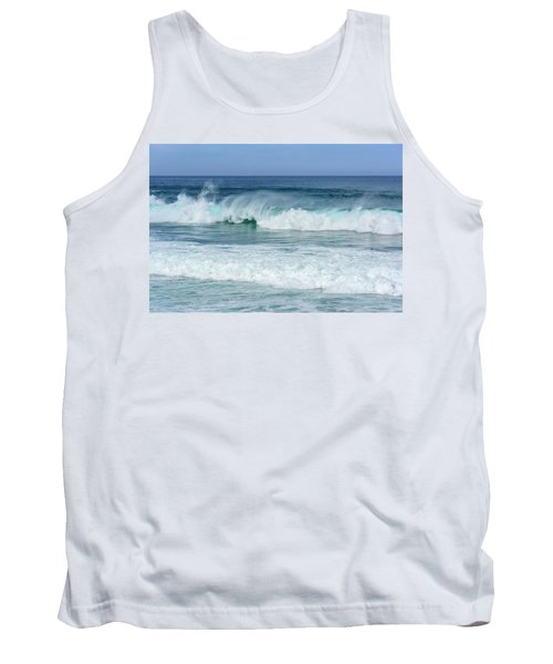 Tank Top featuring the photograph Big Waves by Marion McCristall