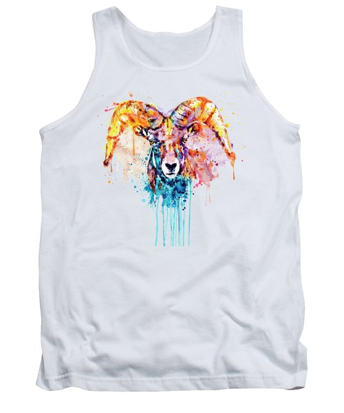 Bighorn Sheep Portrait Tank Top