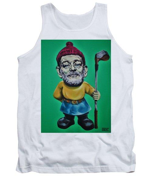 Bill Murray Golf Gnome Tank Top