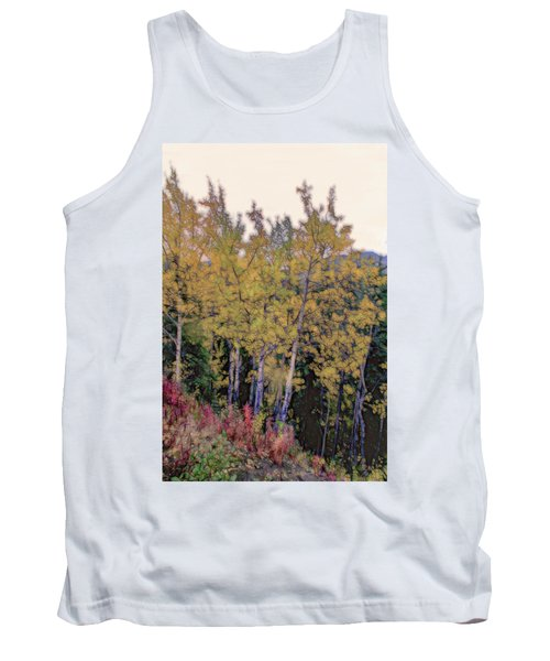 Birch Trees #2 Tank Top