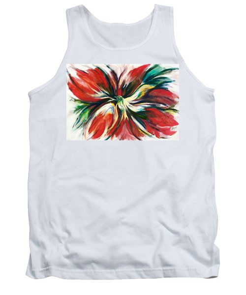 Tank Top featuring the painting Bird Of Haven by Laila Awad Jamaleldin