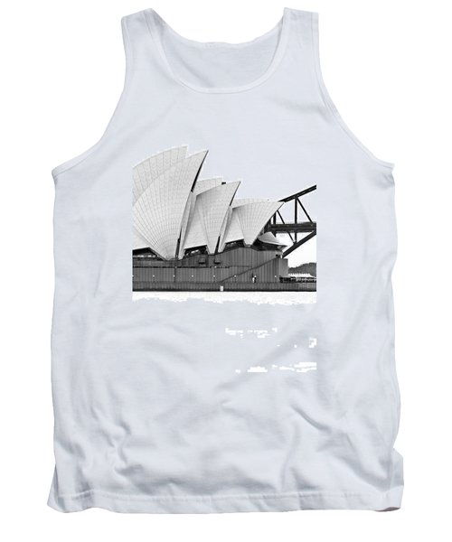 Bird On The Harbour Tank Top