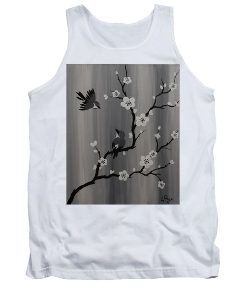Birds And Blossoms Tank Top