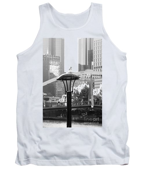 Birds Eye View Of The City Tank Top