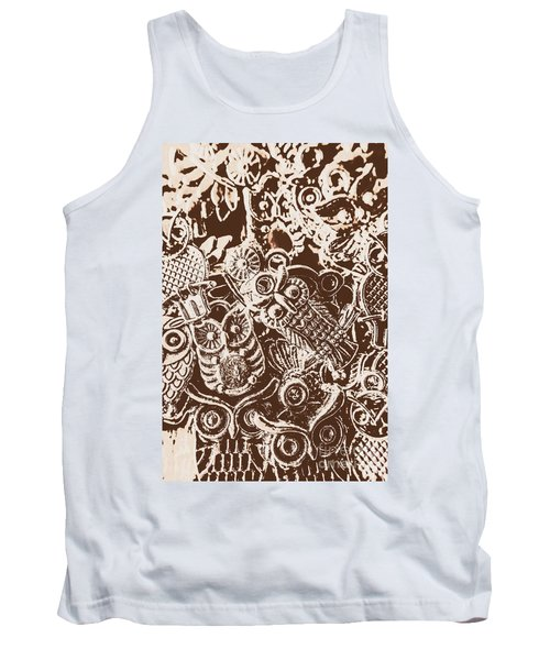 Birds From The Old World Tank Top