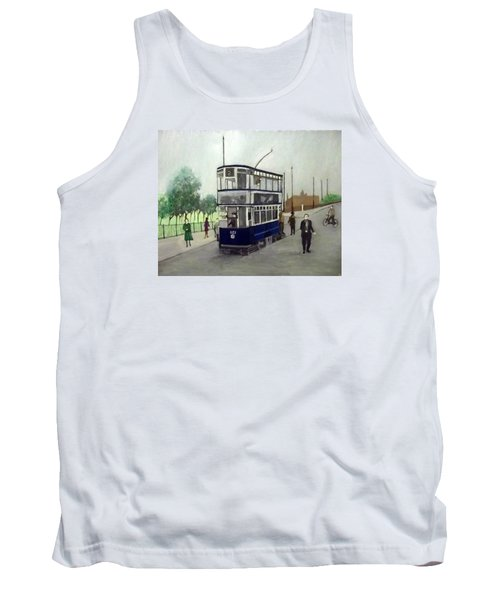 Birmingham Tram With Figures Tank Top