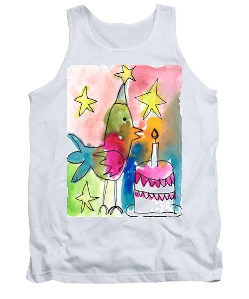Birthday Bird Tank Top