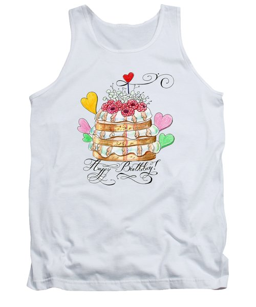 Birthday Cake Tank Top
