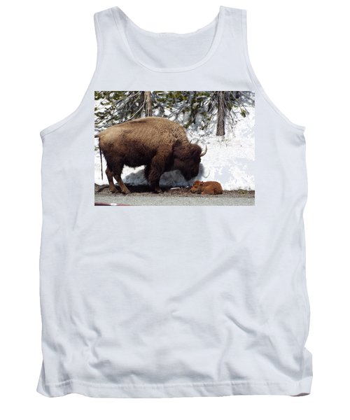 Bison Calf After Birth Tank Top