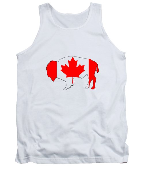 Bison Canada Tank Top by Mordax Furittus