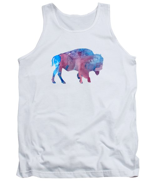Bison Silhouette Tank Top