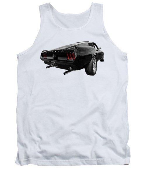 Black 1967 Mustang Tank Top by Gill Billington