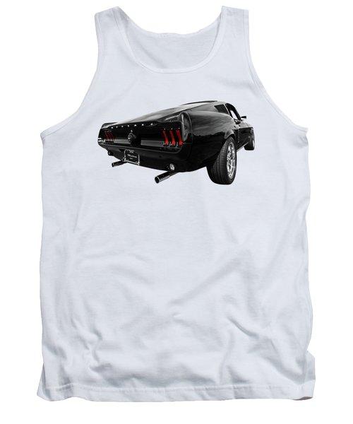 Black 1967 Mustang Tank Top