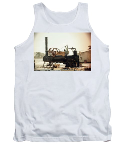 Black And Glorious Steam Machine Tank Top