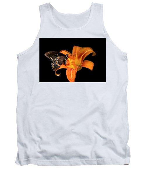 Black Beauty Butterfly Tank Top