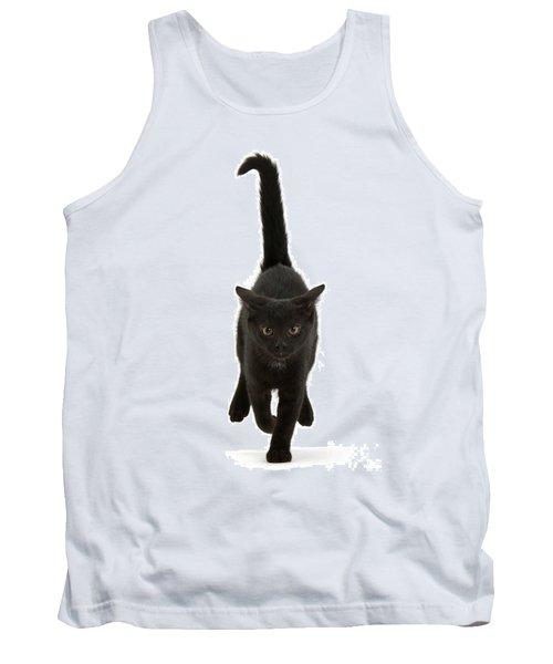 Black Cat On The Run Tank Top