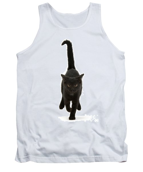 Black Cat On The Run Tank Top