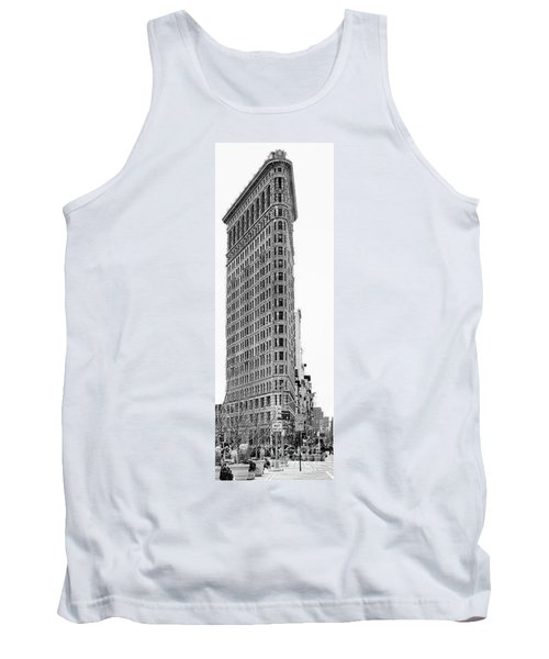 Black Flatiron Building II Tank Top