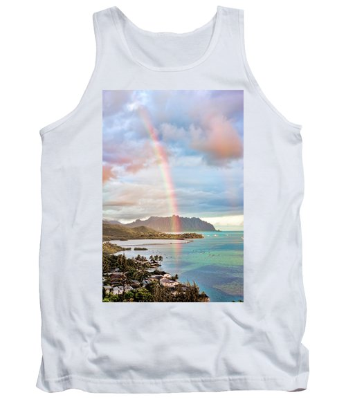 Black Friday Rainbow Tank Top by Dan McManus