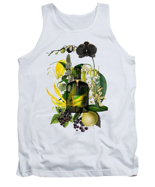 Black Orchid Notes - By Diana Van Tank Top
