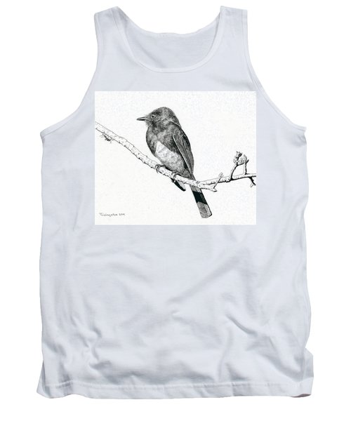 Black Phoebe Tank Top