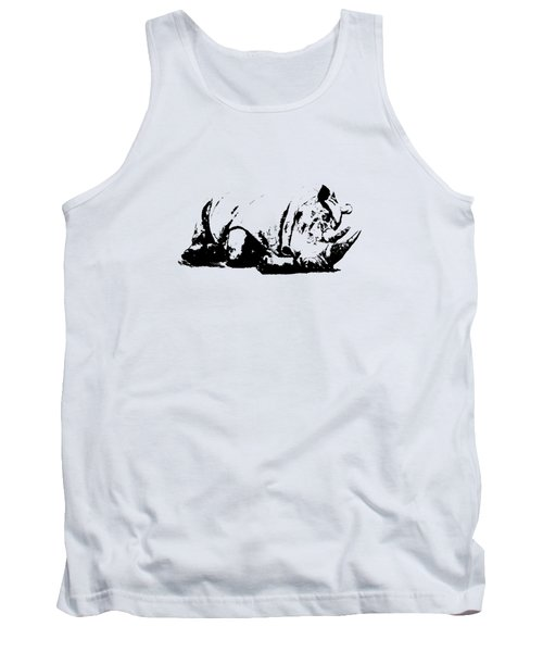 Black Rhino Tank Top