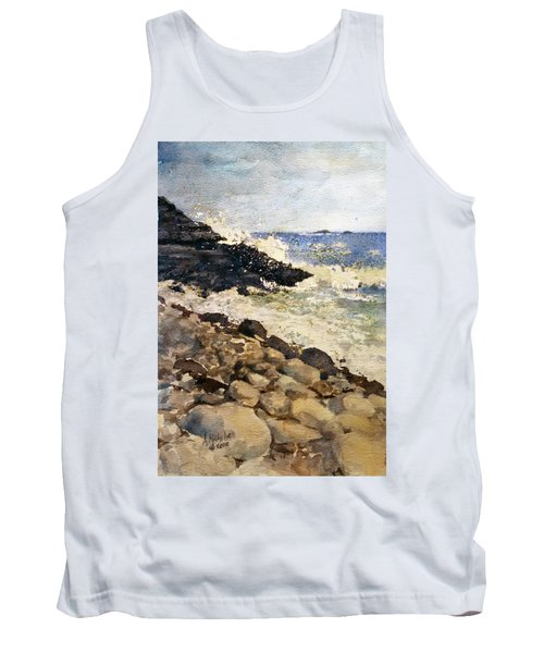 Black Rocks - Lake Superior Tank Top