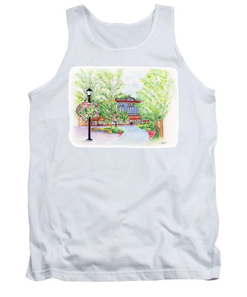 Black Sheep On The Plaza Tank Top