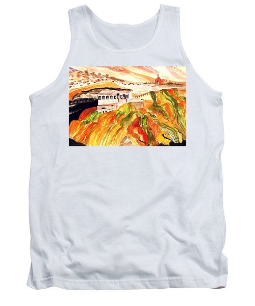 Black Waters Of The Andes Tank Top