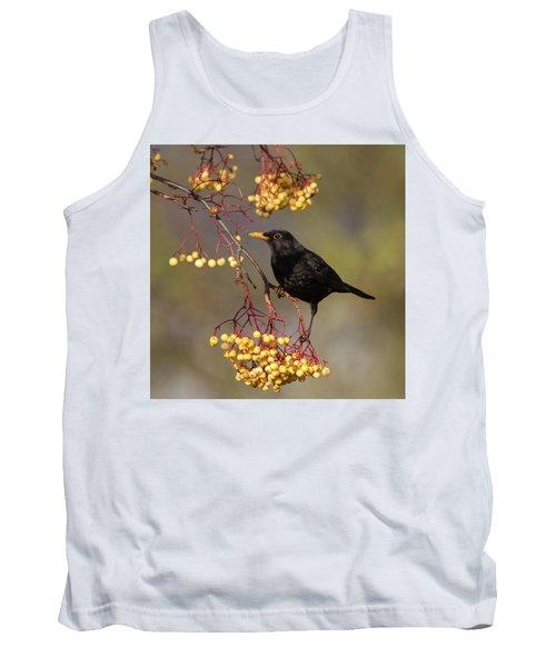 Blackbird Yellow Berries Tank Top