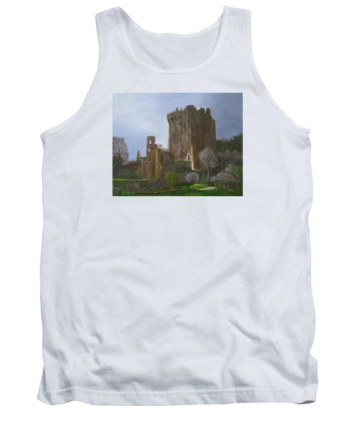 Tank Top featuring the painting Blarney Castle by LaVonne Hand