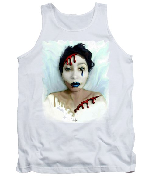 Blood Sweat Tears Faced Tank Top
