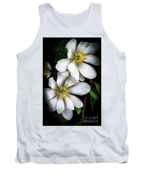 Tank Top featuring the photograph Bloodroot In Bloom by Thomas R Fletcher